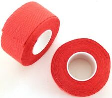 """NEW"" VINTAGE ADHESIVE COTTON TAPE FOR HANDLBARS GUIDOPLAST TRESSOREX - RED."