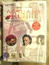 Massacre in Rome (DVD, 2006, 2-Disc Set) Richard Burton, Marcello Mastroianni