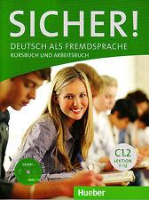 HUEBER Sicher! Kursbuch & Arbeitsbuch C1.2 Lektion 7-12 MIT CD-ROM @NEW@ 2016