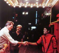 MICHAEL JACKSON & ROCK HUDSON clipping Thriller video color photo R&B meet 1983
