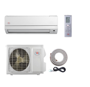 Mini Split Ductless Air Conditioner YMGI 9000 BTU Heat Pump 110-115V