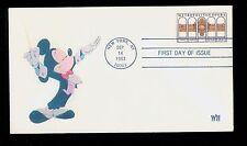 #2054 1983 Metropolitan Opera WII Laser Cachet Disney's Mickey Mouse UA FD1755