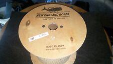 "New England Ropes, VINTAGE 3-STRAND SOFT POLYESTER 3 STRAND ROPE, 400' x 7/16"""