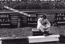 9x6 Photographie Jean Pierre Jarier, Tyrrell portrait US GP Watkins Glen 1979