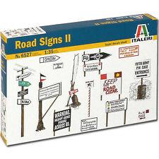 ITALERI WWII Road Signs 6527 1:35 Military Model Kit