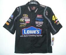 Authentic NASCAR Jimmie Johnson Lowes Pit Crew Shirt JH Design | Size Large EUC