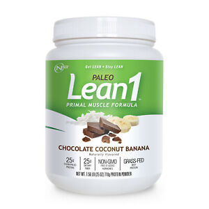 Lean1 Paleo - chocolate coconut banana sold direct by N53
