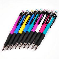 12PCS AH-505 0.7mm roller ball pen BLUE INK Home Pen Art Ballpoint Pens New Gift