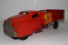 1950's Banner Grocery Service Stake Bed Truck, Original