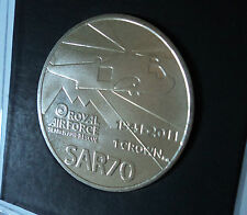 2011 Falkland Isles Islands Royal Air Force RAF Search & Rescue SARF Crown Coin