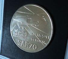 2011 isole FALKLAND ISOLE Royal Air Force RAF ricerca e soccorso Sarf Corona Moneta