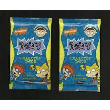 1997 RUGRATS 2xPack of 7 Collector Cards Nickelodeon Tempo Vintage Retro Trading