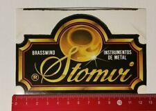 ADESIVI/Sticker: brasswind-instrumentos de metal-Stomvi (050417137)