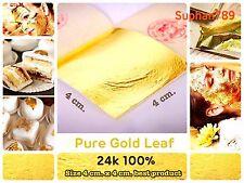 400,000 sheet 24K Real Genuine gold leaf foil For Edible/Beauty Spa/Anti-wrinkle