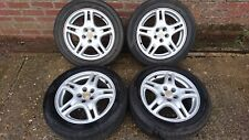 5 X 100 SUBARU FORESTER. LEGACY, IMPREZA 16 INCH WHEELS AND TYRES