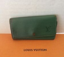 dad55c0beb67 Louis Vuitton Epi CLE 4 Key Case VIntage Authentic CA1927