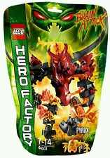 LEGO HERO FACTORY / 44001 PYROX / RARE RETIRED / BNIP NEW SEALED✔ FAST P&P✔