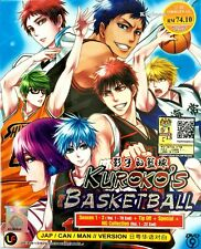 DVD Anime KUROKO'S Basketball Season 1+2+3 VOL 1-78 End Tip Off +Special NG 1-22