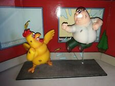 Family Guy Peter Griffin Vs The Giant Chicken Action Figures Ornaments Rare