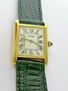 Vintage Cartier Tank Louis Cartier - Mechanical (Manual)  Watch- 1980's