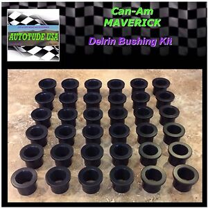 All 2013 Can-Am Maverick 1000 COMPLETE Suspension DELRIN Bushing Bushings Kit
