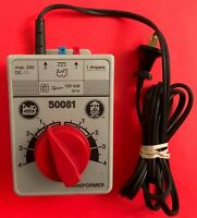 LGB 50081 120V 1 Amp Toy Transformer w/50160  G-Scale