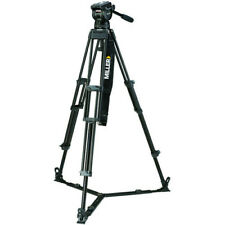 Miller CX10 Toggle 2-Stage Alloy Tripod System with Ground Spreader 3753