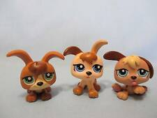 LITTLEST PET SHOP LPS PUPPY DOG TRIPLETS 1338 1339 1340 LOT 100% Authentic i5