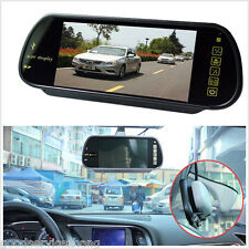 "7""MP5 16:9 HD USB SD Bluetooth TFT LCD FM CarRearviewmirrorMirror Monitor"