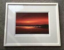 Whistlefish 'Constantine Sunset', Framed Mounted Print