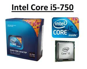 Intel Core i5-750 SLBLC 2.67 - 3.20 GHz, 8MB, 4 Core, Socket LGA1156, 95W CPU