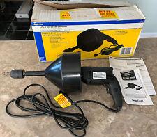 BrassCraft Cable Drum Drain Cleaner BC110 ES by Cobra-BRAND NEW IN ORIGINAL BOX