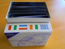 *Limit. Euro - Umlaufmünzensätze Der Ersten 12 EU Teilnehmerländer 2002