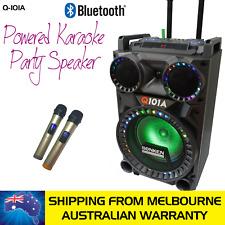 SONKEN Q-101A BLUETOOTH KARAOKE POWERED SPEAKER - 50 WATTS & 2 WIRELESS MICS