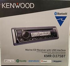 Kenwood KMR-D375BT Marine CD receiver with Bluetooth