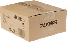 """Plymor 2 Mil Clear Brand Zipper Reclosable Storage Bags, 3"""" x 5"""", PBR-0305-1000"""