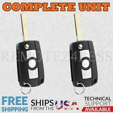 2 For 2000 2001 2002 2003 2004 2005 BMW X5 Keyless Entry Remote Car Flip Key Fob