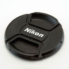 NIKON LC-52 STYLE 52MM CENTRE PINCH CLIP ON LENS CAP FOR NIKON WITH CAP KEEPER