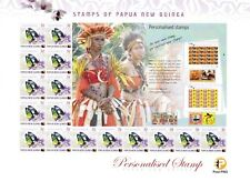 PNG Stamps, 2015, Surcharged Upvalues,5t Butterfly,Gift Sheet #1