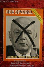 Der Spiegel 8/64 19.2.1964 Euthanasie-Prozeß Heyde-Sawade