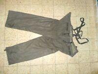 Israeli Army Idf Protective Pants Zahal Feuchter NBC Charcoal Rare Auth Military