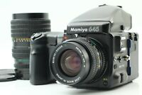 [Exc+5] Mamiya 645 Pro AE Finder Sekor C 55mm f/2.8 N 55-110mm 2 Lens From JAPAN