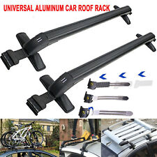 New Universal Aluminum Cross Bar Roof Rack Cargo Carrier With Anti-Theft Lock