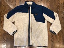 Under Armour Boys Youth Xl Storm Coldgear Fleece Jacket Blue