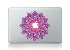 "MacBook 11""/13""/15"" Purple Flower Apple Decal Sticker (pre-2016 Pro/Air only)"