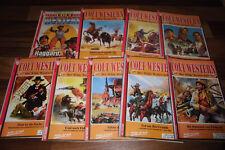 9x COLT Western -- 9 Selvaggio West-romanzi di John Gray/Joe Juhnke/Robert Ullman +
