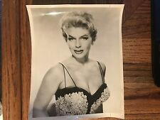"Jane Morgan Actress Singer Original 8"" X 10"" Photograph Used In Magazine 1958"