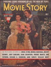 ERROL FLYNN, Movie Story cover