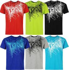 Herren-T-Shirts mit Rundhals Tapout in Plusgröße
