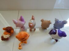 littlest pet shop lot puppy kitten glitter dalmation purple lps